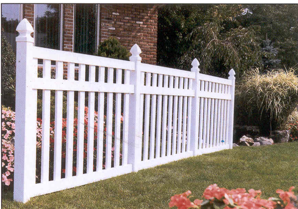 Mr Fence Residential Fences In Vinyl Pvc And Aluminum
